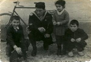 Руслан на побывке из армии 1961 г.