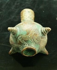 Навершие булавы, Бронза, патина. (Копия. Кобанская культура IX-VIII вв. до н.э.)